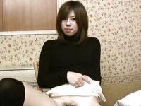 【無修正】長野から来た素人JDをハメ撮り!!