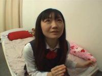 【無修正】童顔美少女JKを中出しハメ撮り!!激ピストンでイキまくり!!