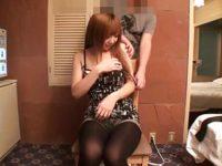 【無修正】金髪巨乳ギャルを玩具責め&フェラ!!顔も体もマジで最高!!