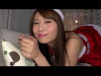【無修正】サンタコス極上美女と生SEX!!プレゼントは中出し!?