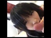 【無修正】激かわコスプレイヤーのフェラ映像流出!!