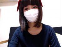 【無修正 ライブチャット】エロいコスプレでオナニーする美少女