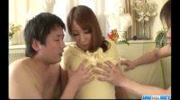 【無修正】巨乳お姉さんと親子という設定で中出しSEX!!