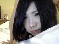 【無修正】巨乳でクソ可愛い女の子を寝バックでひたすら突きまくる!!