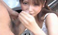 【無修正】駐禁を取り締まるはずの爆乳婦警がコリコリになった乳首を擦りつけながらパイズリフェラ抜き!相沢桃