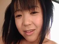 【無修正】小柄で幼顔な巨乳娘が透けたベビードールを着たままホクロが多いスジマンをオナニー!三浦智恵理