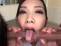 【無修正】妖艶な美女がふんどしをずらしてハメられて中出し!藤井沙紀
