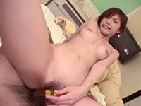 【無修正】長身でスタイル抜群の性欲旺盛な巨乳痴女と2回戦ぶっかけ!立花里子