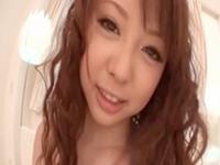 【無修正】嬉しそうにチンポを弄るスレンダーな淫語痴女に中出し!葉山潤子