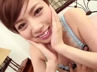 【無修正】積極的な美顔おねえさんが恋人気分で生ハメされて喘ぎまくる!宮澤ケイト