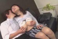 【無修正】[ザーメン中に出して孕ませてください]爆乳のむっちりお姉さんがクリを弄られてエロい乳首がフル勃起