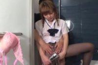 【無修正】生ハメ中出し♥超S級パイパン女子高生