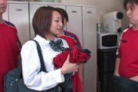 【無修正】部員の溜まった性欲を解放する美人女子校生マネージャー