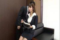 【無修正】【無】細くて美人な秘書と。