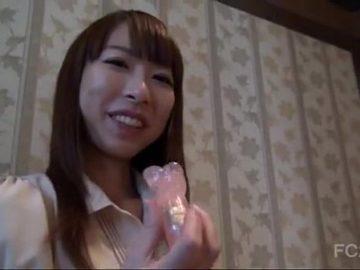 【無修正】巨乳素人美女を個人撮影風中出しハメ撮り!!